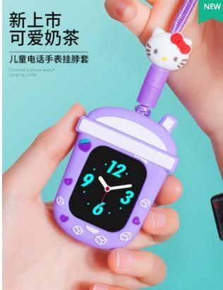 适用360儿童电话手表8xs挂脖9x挂套w910米兔4c小寻a1