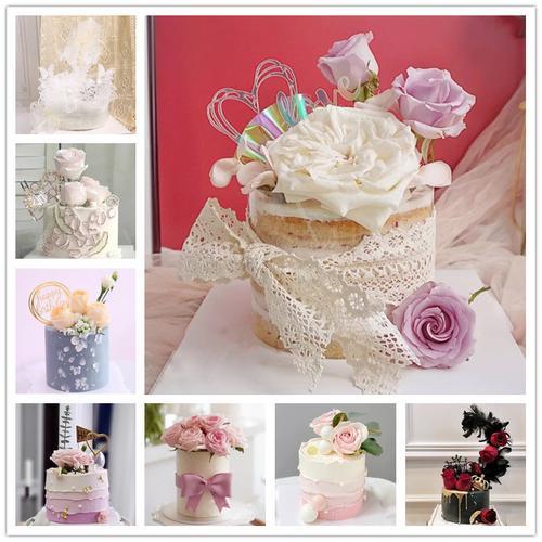 小红书同款节鲜花奶油蛋糕玫瑰花束女神生日蛋糕