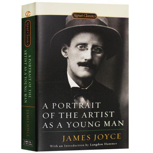 正版 一个青年艺术家的肖像 a portrait of the artist as a young