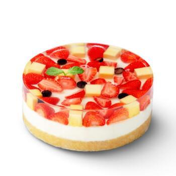 幸福西饼网红高颜值新鲜草莓芒果果冻奶油慕斯生日蛋糕 全国同城配送