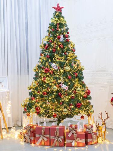 家用圣诞节圣诞树装饰1.2/1.5/1.8/2.1/2.4/3米豪华