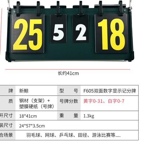 乒乓球记分牌翻分记分器台球翻分牌比赛比分牌计分牌
