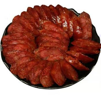 3斤麻辣香肠香辣腊肠农家手工腊肠肉特产风干腊味香烤肠250g广味 麻辣