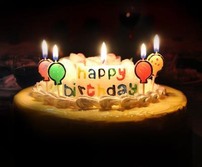 满月卡通儿童生日蛋糕蜡烛创数字生日蜡烛宝宝百天