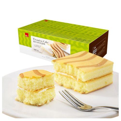 遇见你 泓提拉米苏夹心蛋糕整箱早餐营养面包西式千层