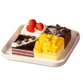 【四味多拼慕斯】缤果乐园-慕斯蛋糕2磅/8英寸