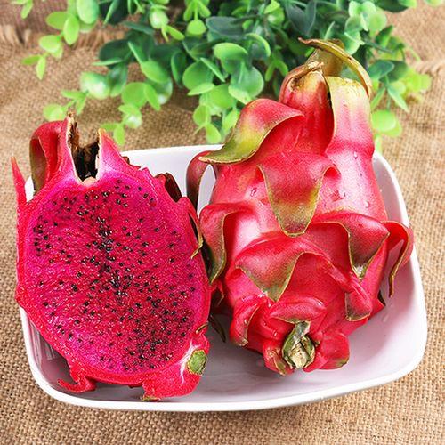 广西红心火龙果大果5斤装4-6个 红肉火龙果 新鲜水果